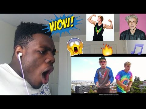 Jake Paul - I Love You Bro (Song) feat. Logan Paul (Official Music Video) REACTION!!!