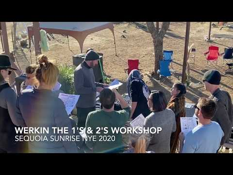 Our DJ workshop at our latest Sequoia Sunrise festival NYE 2019