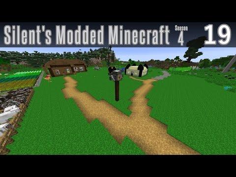 Silent's Modded Minecraft - S4E19 - Roads
