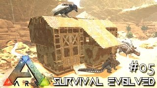 ARK: SCORCHED EARTH - NEW ADOBE BASE & NEW DRAGON !!! E05 (ARK SURVIVAL EVOLVED GAMEPLAY)