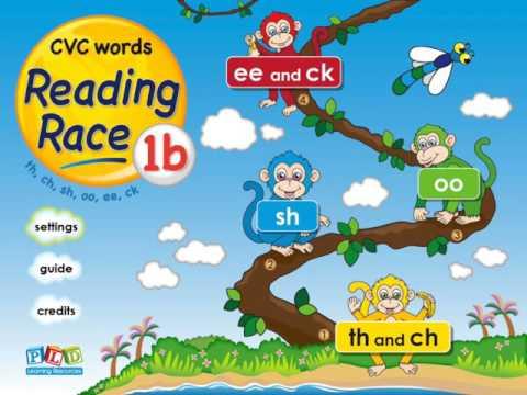 Reading race 1b - sh, ch words