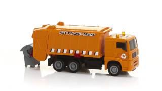 Šiukšliavežė su konteineriu   MAN Heavy City   Dickie 3744003_POM