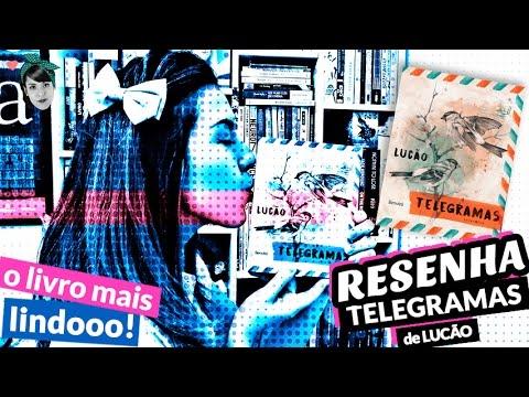 O livro + lindooo! Telegramas, do Lucão