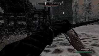 Skyrim Crossbow Reload Mod Demo