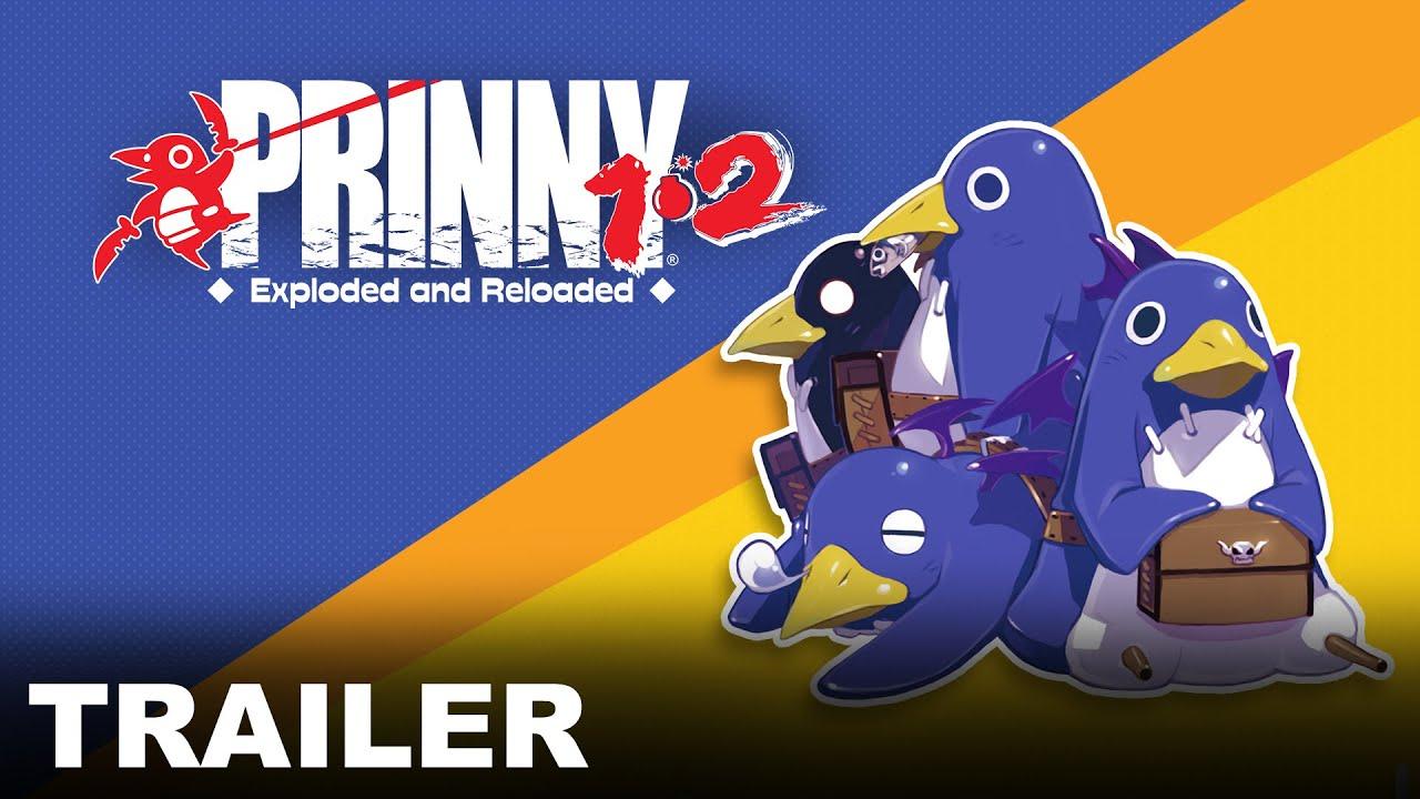 Switch《普利尼 1‧2 爆破和重裝上陣》最新宣傳片公開,這次官方簡要介紹了《普裡尼 2 ~特攻遊戲! 破曉的內褲大作戰!!~》的遊戲系統。 Maxresdefault