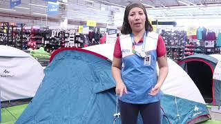 096af4c1b Como montar a Barraca T6.2 XL Air Quechua - Exclusividade Decathlon