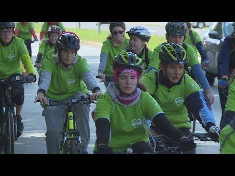 Televízia Turiec: Na kolesách proti rakovine (reportáž, 24.9.2019)