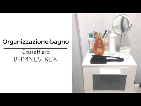 Organizzazione bagno - Cassettiera BRIMNES IKEA