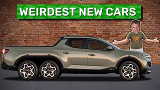 Here Are the 11 Weirdest New Cars on Sale Today