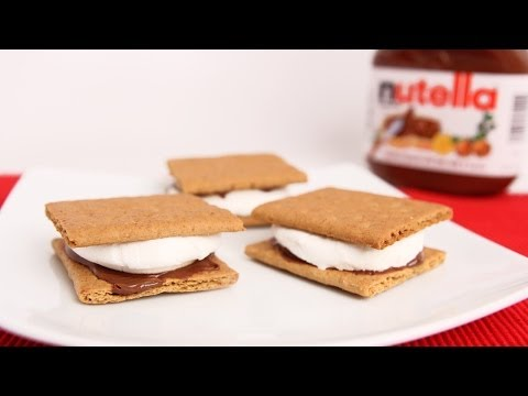 Nutella S'mores in the Oven!- Laura Vitale – Laura in the Kitchen Episode 658