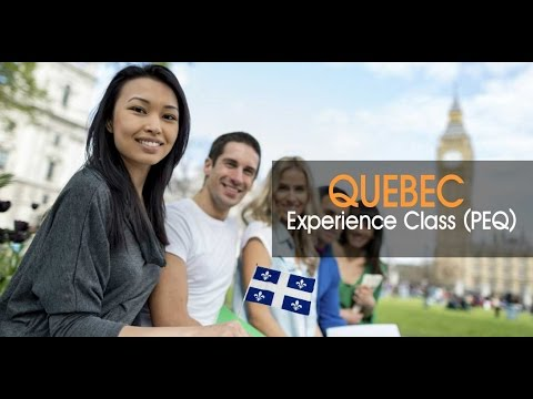 Quebec Experience Class PEQ  Permanent Residence options for Temporary Residents