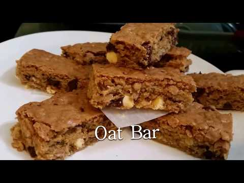 Video Resep Oat Bar.