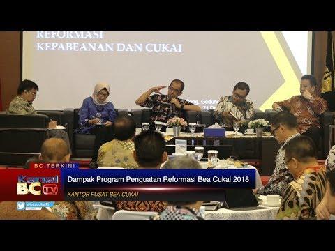 Sarasehan & Diskusi Dampak Program Penguatan Reformasi Bea Cukai 2018