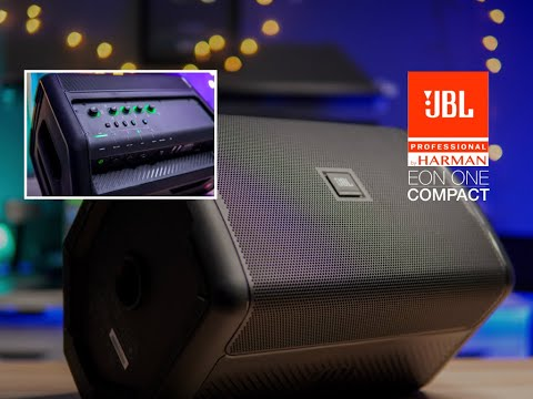 JBL EON One Compact | All in One - 12 Hour Battery Life - Personal PA System with Four Channel Mixer