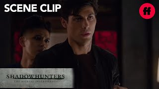 Shadowhunters | Season 1, Episode 12: Magnus Gives Alec Love Advice | Freeform