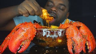 BEAST MODE DESTROYS SEAFOOD IN A BOWL | AMAZING REACTION