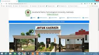 how to apply online jntuk orginal degree - Free video search