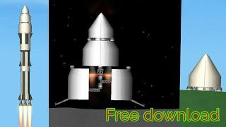 New landing legs || spaceflight simulator