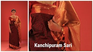 How to wear a Kanchipuram saree in Coorgi style?