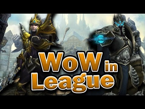 Warcraft references in League of Legends