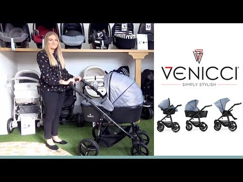 Venicci Prestige Edition Pram & Pushchair Store Demo – Direct2Mum
