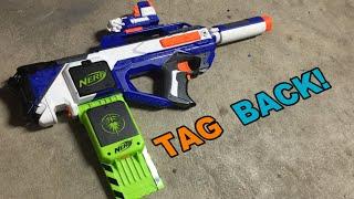 TAG BACK! - Nerf N-Strike Rayven CS-18