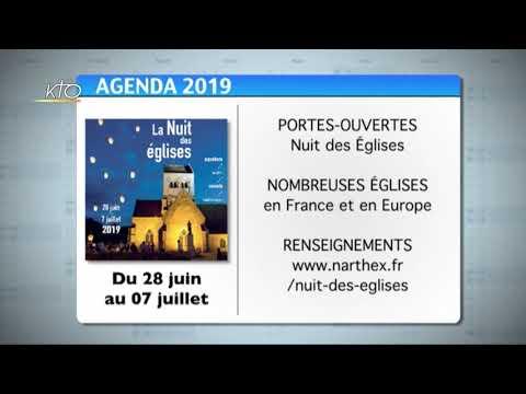 Agenda du 21 juin 2019