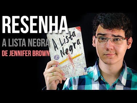 RESENHA: A Lista Negra de Jennifer Brown