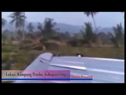 Ngeri..! Video Detik-detik Hancurnya Kampung Petobo Pasca Gempa Sulteng