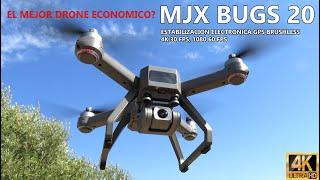 MEJOR DRONE 2020 , MJX BUGS 20 EIS, Drone Gps economico con estabilizacion de imagen