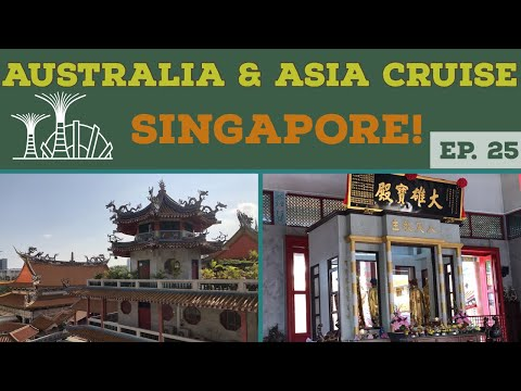 Our Day in Singapore Travel Vlog l Cruise Vlog l Ep. 25