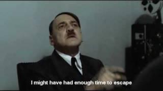 Gunsche Finds Hitler after being lost