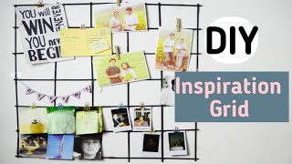 Inspiration Grid | ROOM DECOR | WALL HANGING | DIY