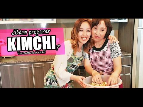 ¿Cómo hacer KIMCHI? ¡Cocino con mi mamá! - JiniChannel