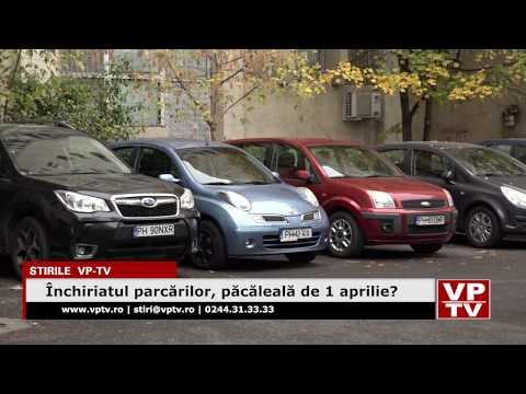 Închiriatul parcărilor, păcăleală de 1 aprilie?