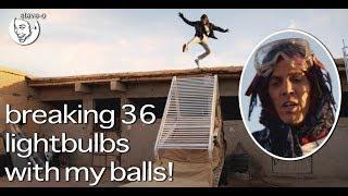 Busting My Bulbs With 36 Lightbulbs - Steve-O