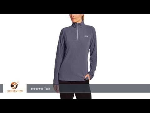 The North Face Damen Sweatshirt W 100 Glacier 1/4 Zip Eu | Erfahrungsbericht/Review/Test