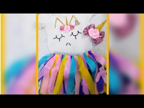 💛Disfraz rapido de unicornio !    tutu  de papel