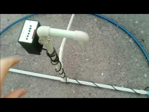Презентация конструкции глубинной катушки для импульсного металлодетектора