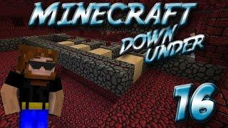Minecraft Down Under Episode 16 - Blaze Farm Redstone Work
