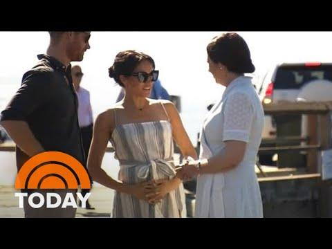 Pregnant Duchess Meghan Markle Takes Break From Royal Tour   TODAY