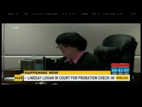 Meg Strickler on HLN discussing #lindseylohan with Carlos Diaz on 2/22/12