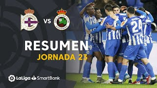 Highlights RC Deportivo vs Real Racing Club (2-1)