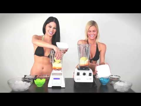 Video Blendtec Vs Vitamix - ICE CREAM - The Blender Babe Reviews
