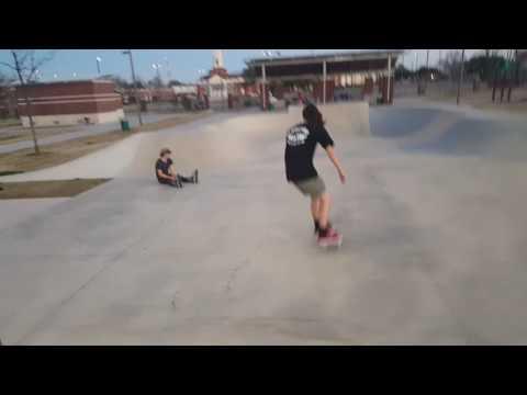 Soul Russ Skate Park - Waco Tx - Part 1