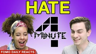"""4MINUTE """"Hate""""  • Fomo Daily Reacts"""