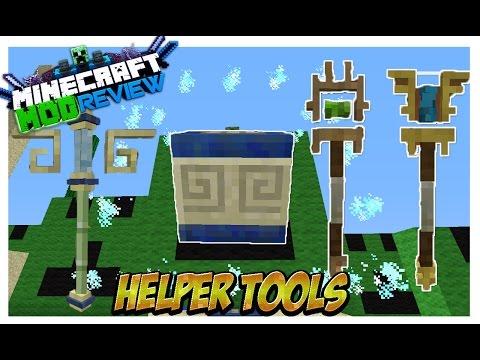 Helper Tools Mod (Duplica Construcciones,Bloques o Reemplazalos) Minecraft 1.8/1.7.10 ESPAÑOL REVIEW
