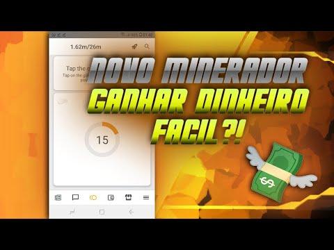 NOVO MINERADOR MOVEL!!!GANHAR DINHEIRO?! #proff