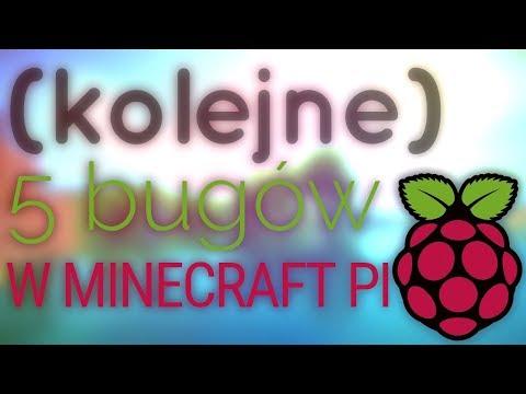 Kolejne 5 bugów w Minecraft Pi!