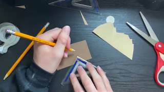 DIY Pop Up Mountain Card Tutorial